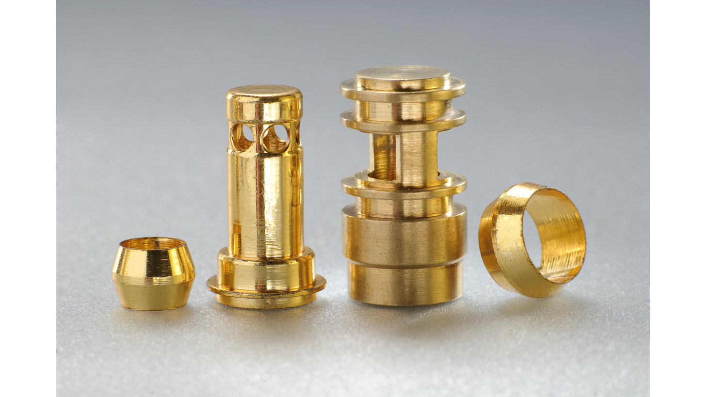 Logo Turned parts made on multi-spindle autom