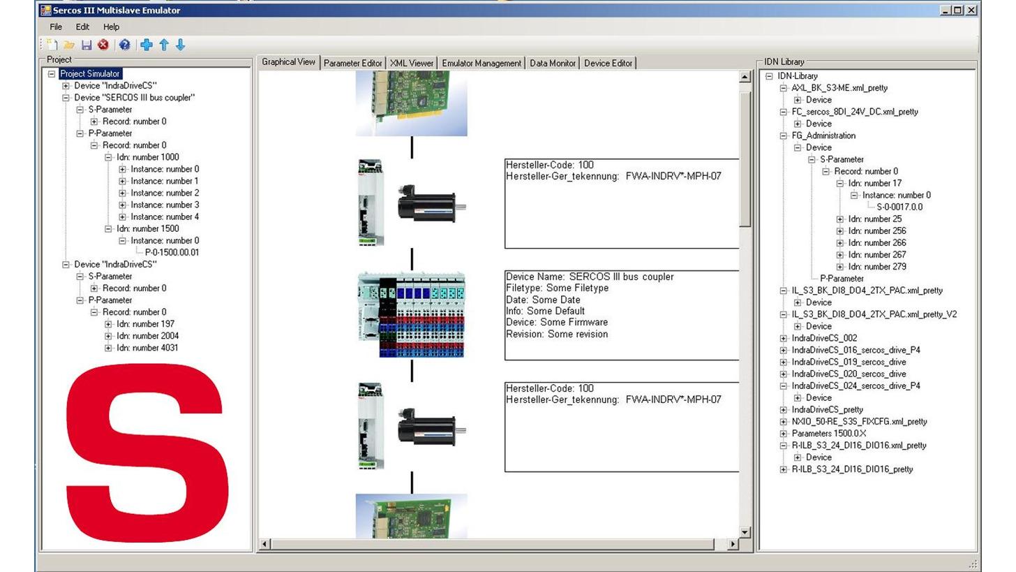Logo Sercos®  MultiSlave Emulator