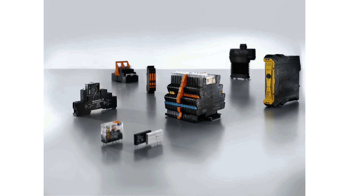 Logo Relays and solid-state relays