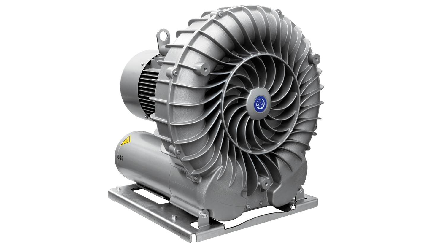 Logo Side channel blowers and vacuum pumps