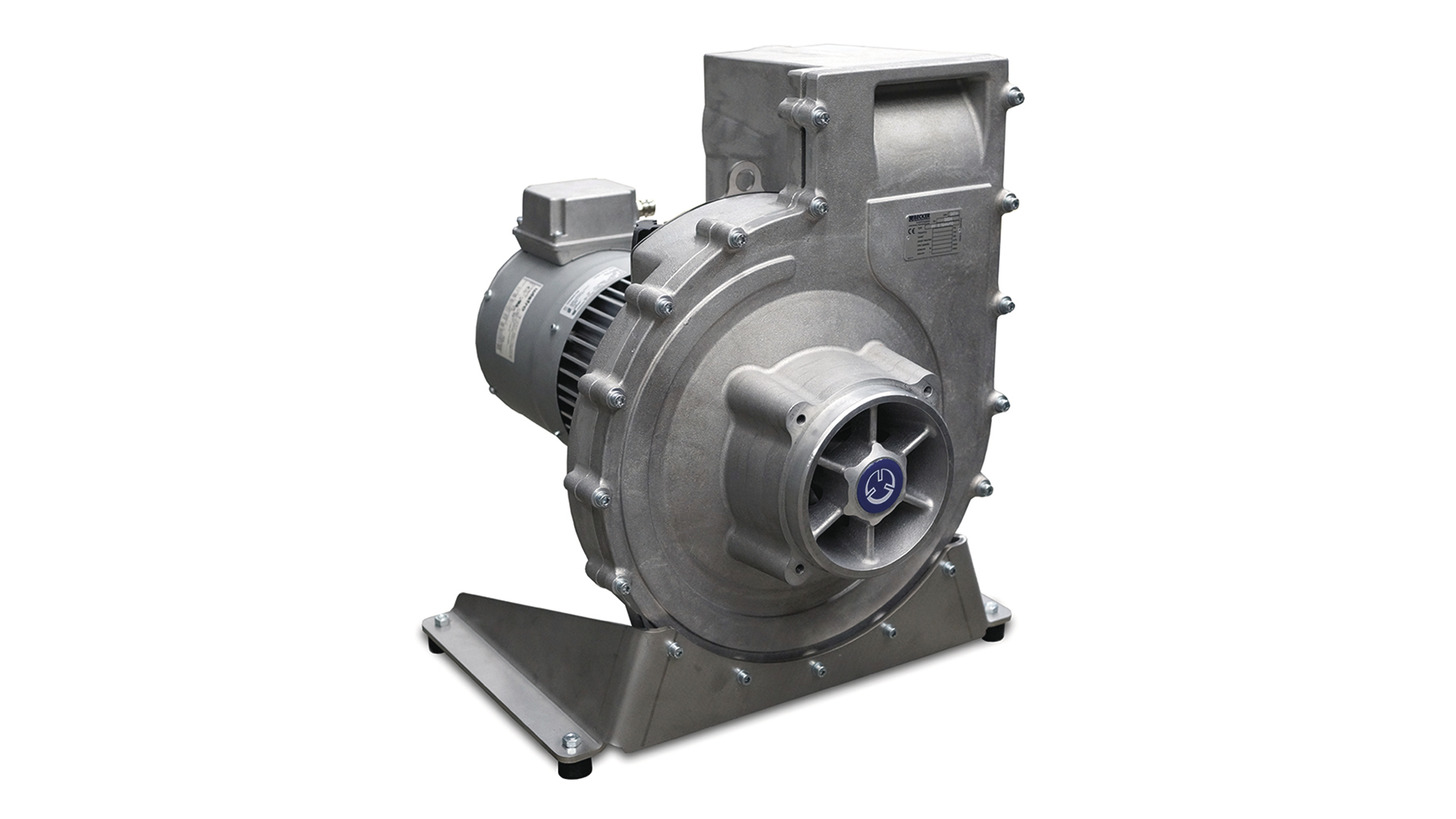 Logo Radial blowers and vacuum pumps