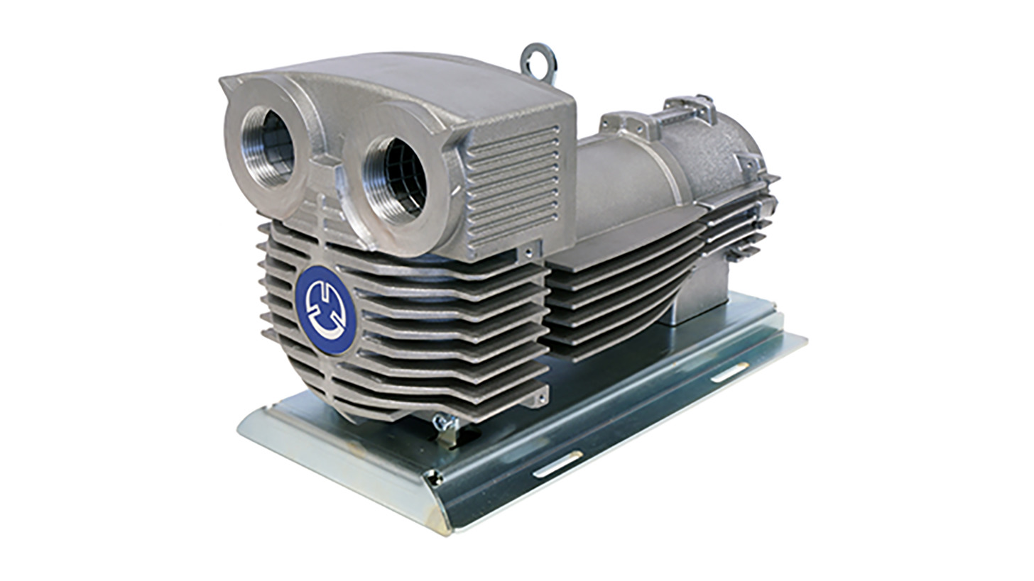 Logo Side channel blower and vacuum pumps