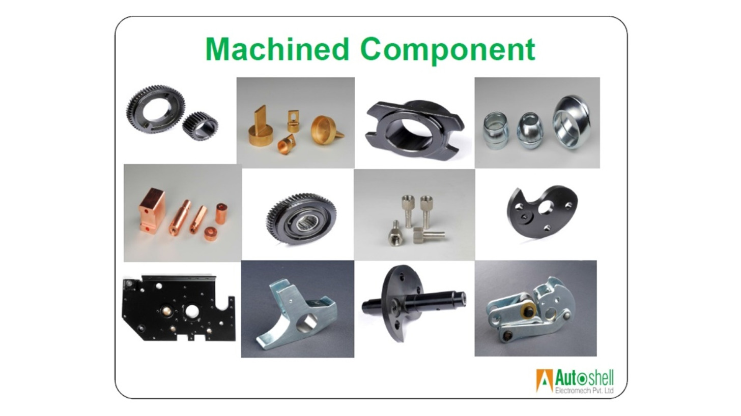 Logo Precision Machined Components