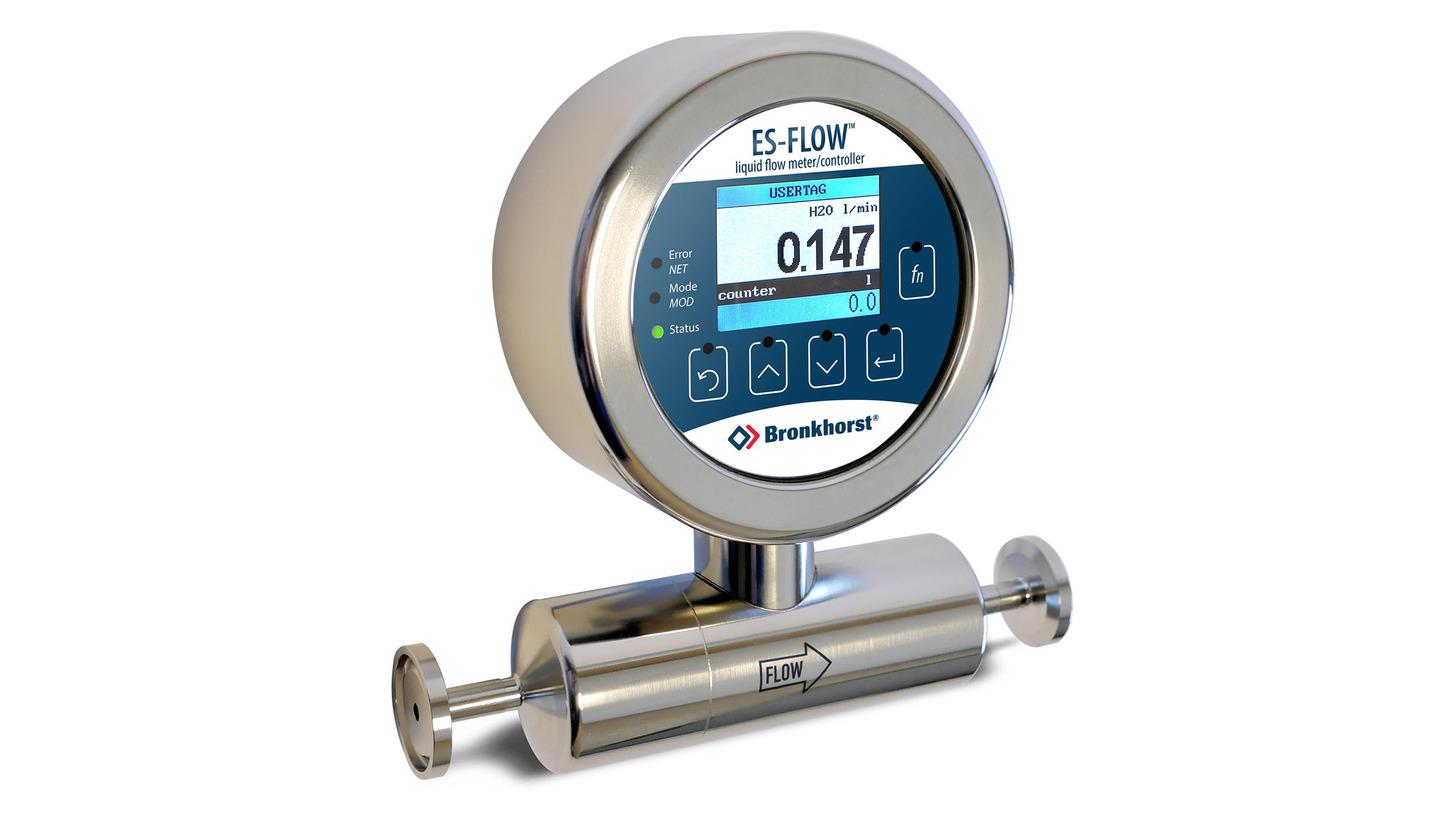 Logo Low-Flow Ultrasonic Liquid Flow Meter