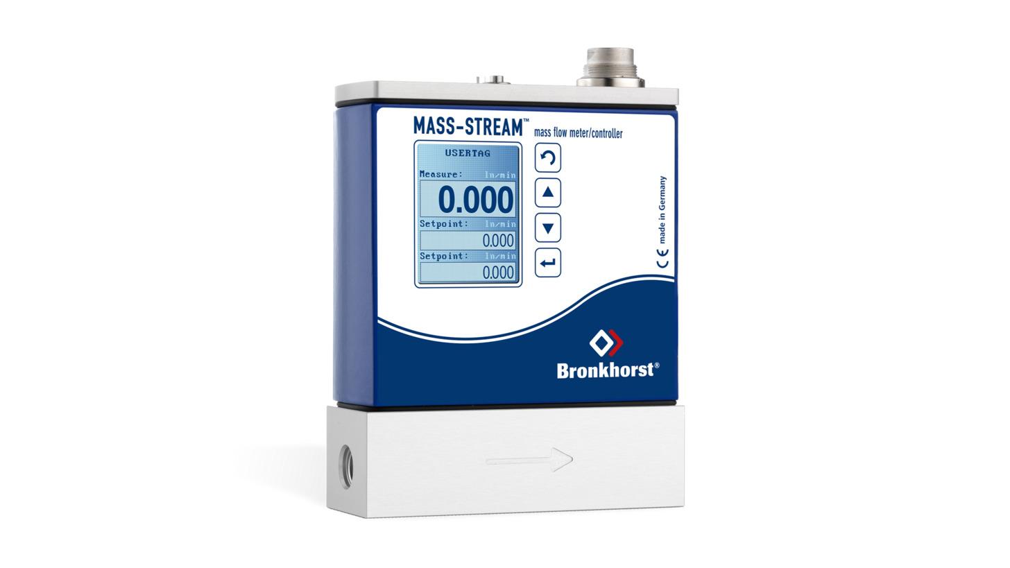 Logo MASS-STREAM Gasflussmesser/-regler