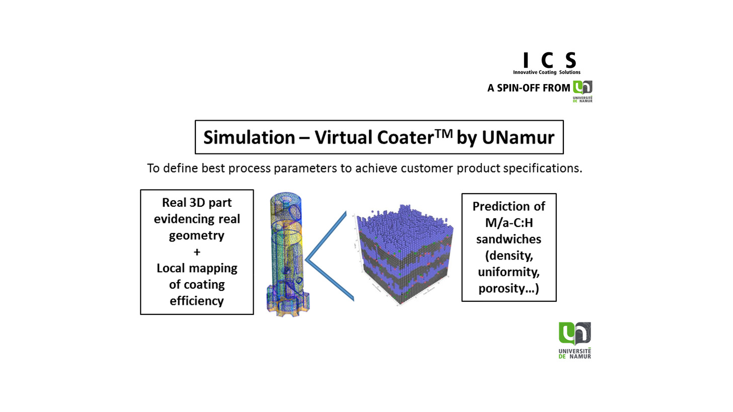 Logo UNamur Virtual Coater Simulation