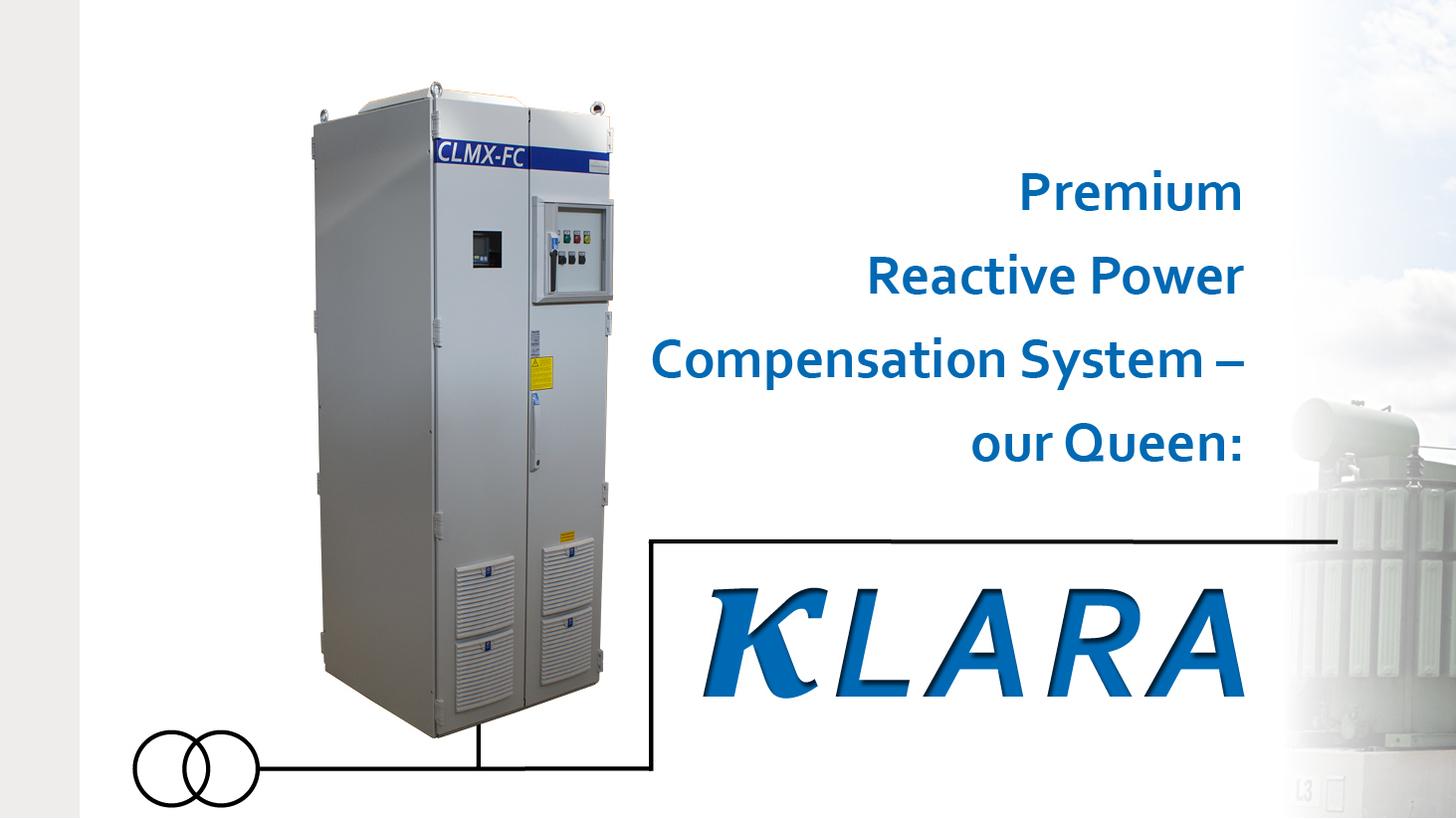 Logo KLARA Premium Blindleistungskompensation