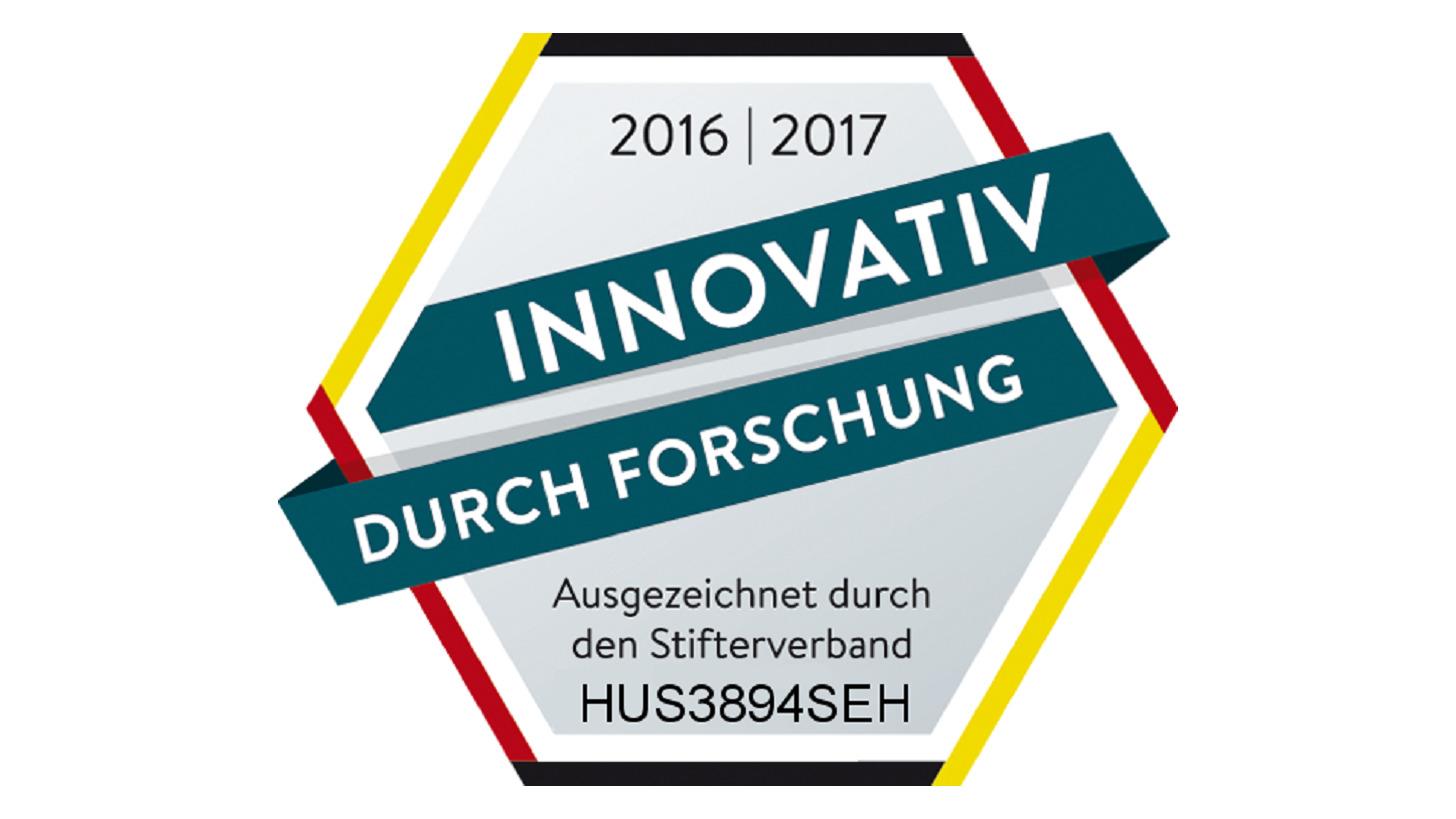 Logo Forschung & Entwicklung