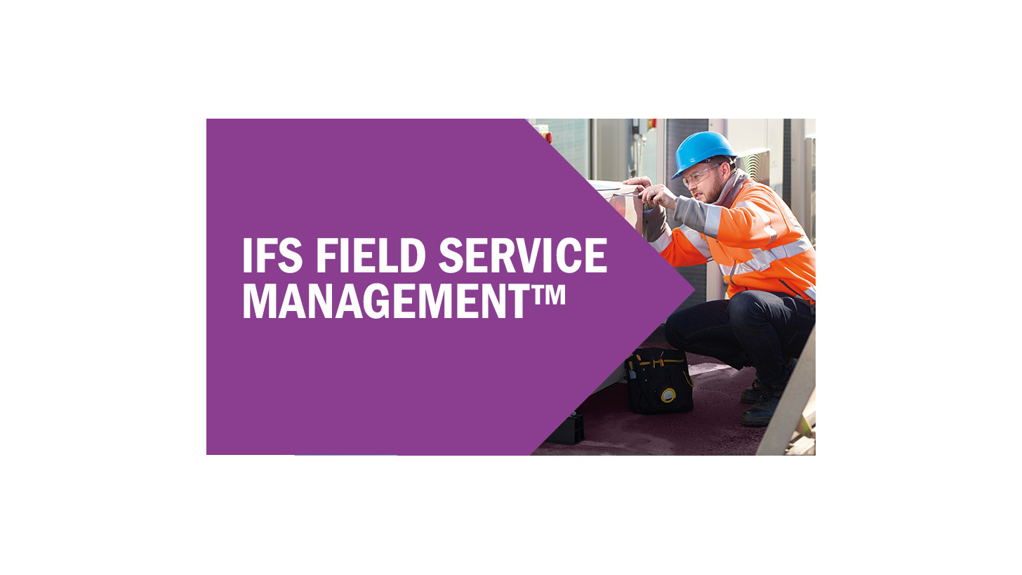 Logo IFS Field Service Management(TM)