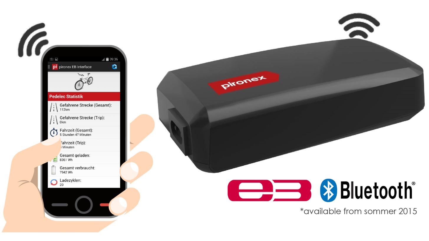 Logo EnergyBus Ladegerät mit Bluetooth 4.0