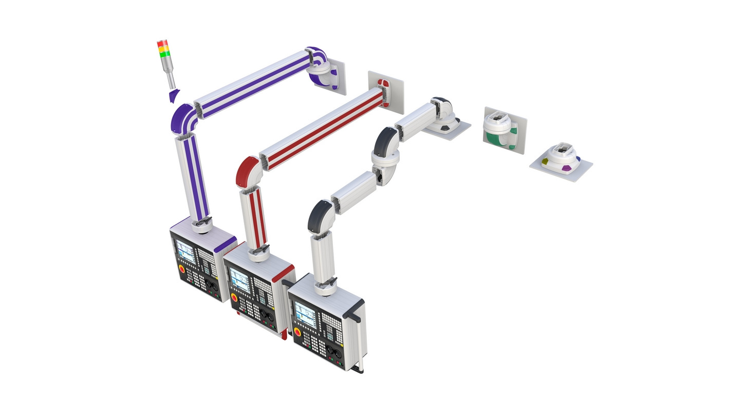 Logo Support Arm Systems