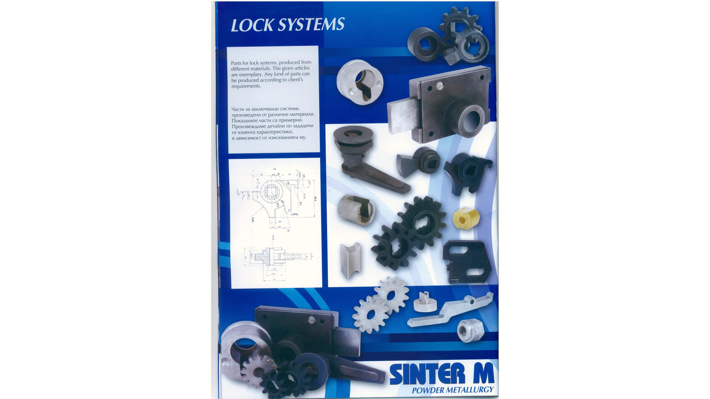 Logo Parts for lock systems