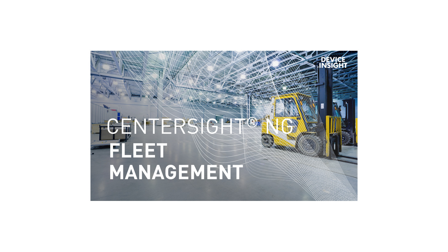 Logo CENTERSIGHT® NG Fleet Management