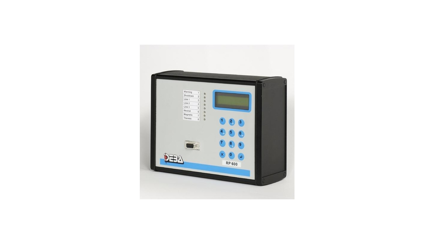 Logo RP600 - Digital Protection Relay