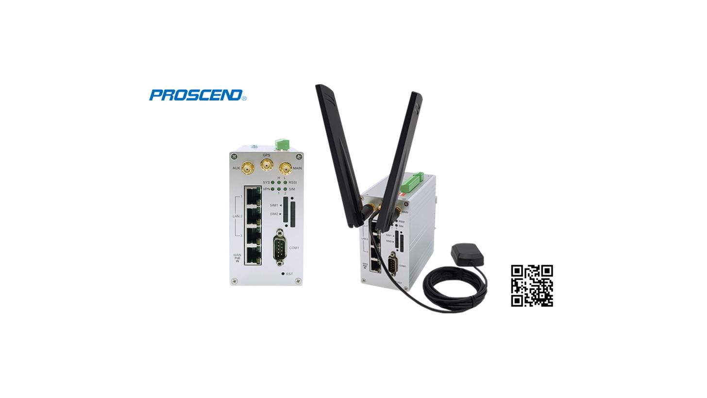 Logo M301-TPG Ind. 4G LTE PoE Cellular Router
