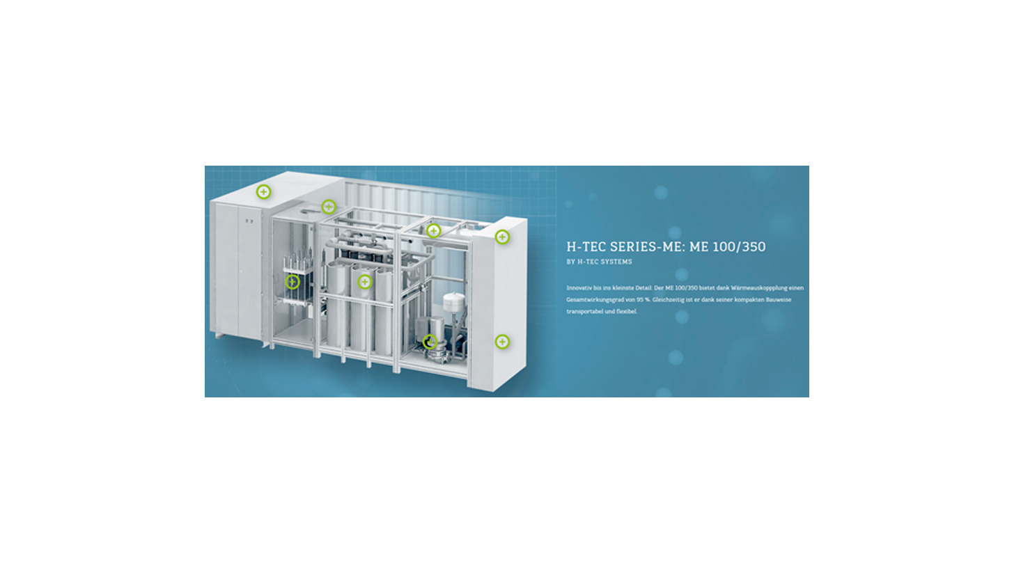 Logo H-TEC Series-ME - PEM eletrolyseur