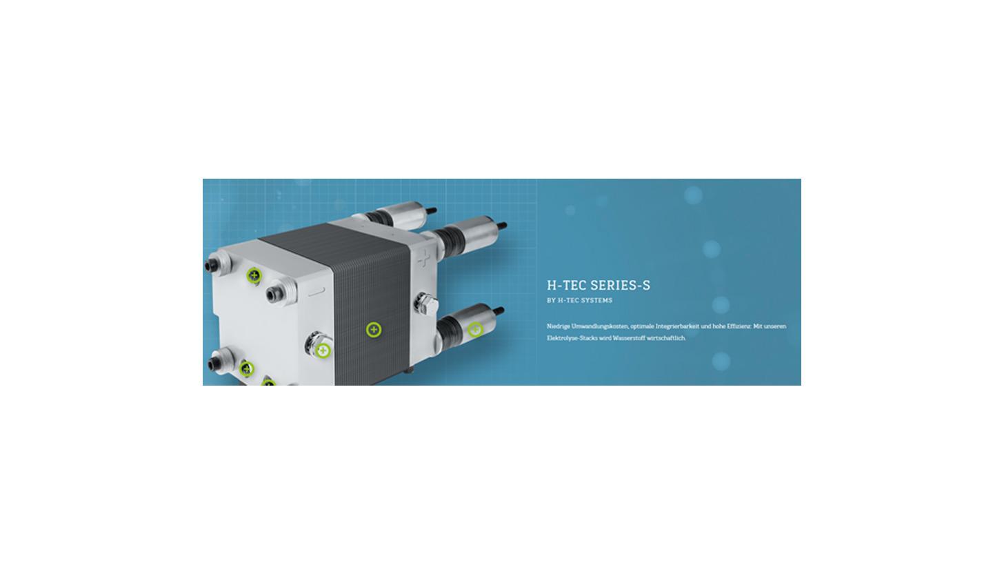 Logo H-TEC Series-S PEM-Elektrolyse Stack