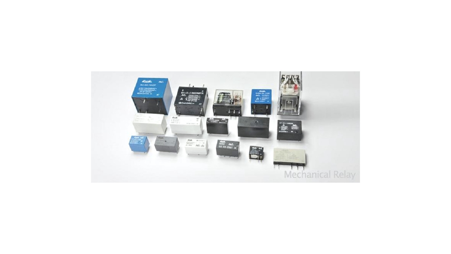Logo Switching relays for pc boards