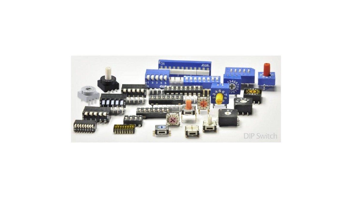 Logo Printed circuit board switches