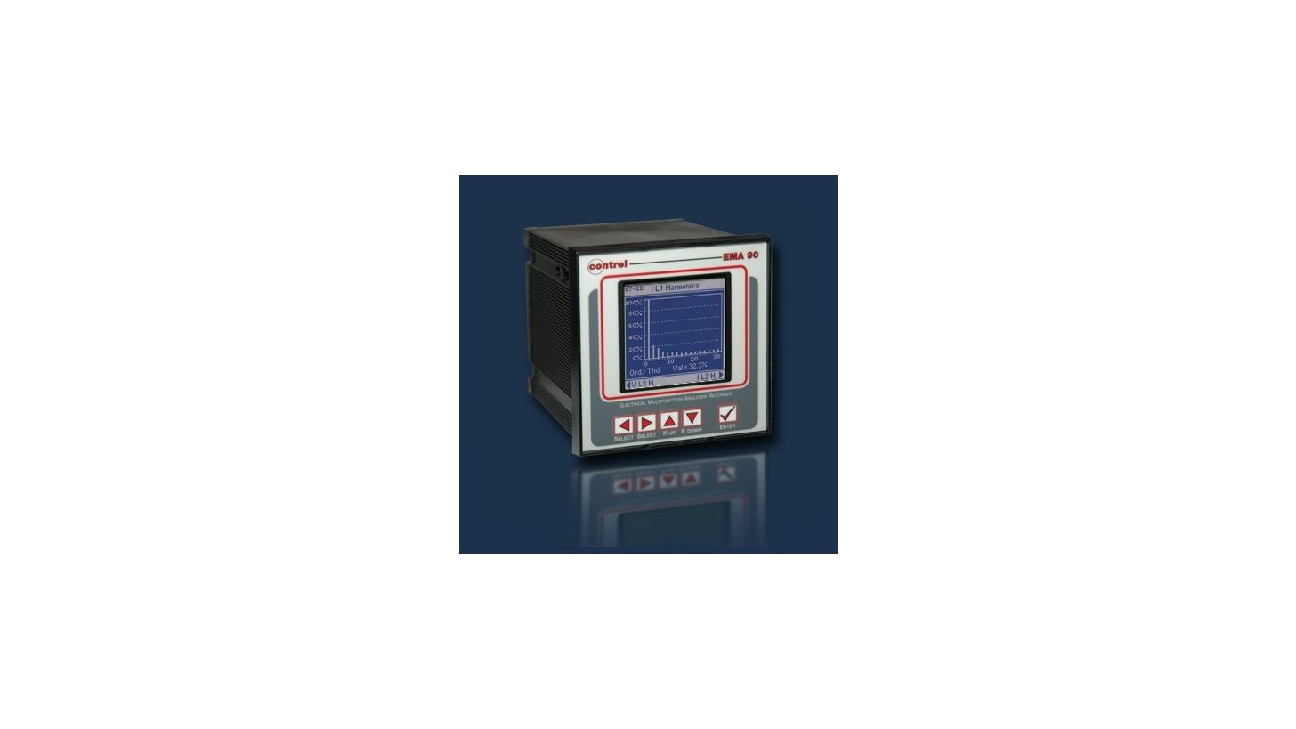 Logo Electrical multifunction analysers - EMA
