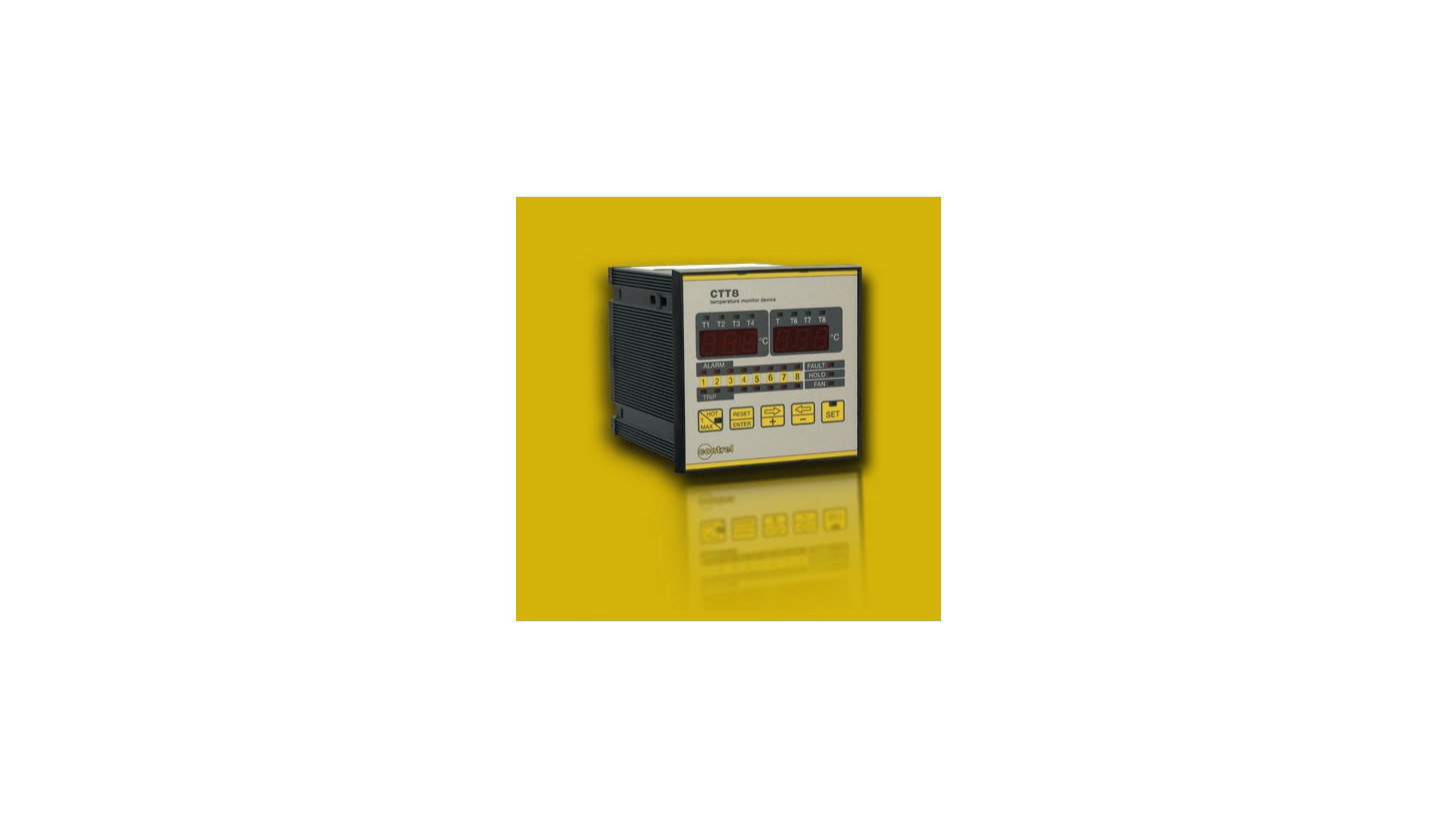 Logo Temperature monitor device - CTT