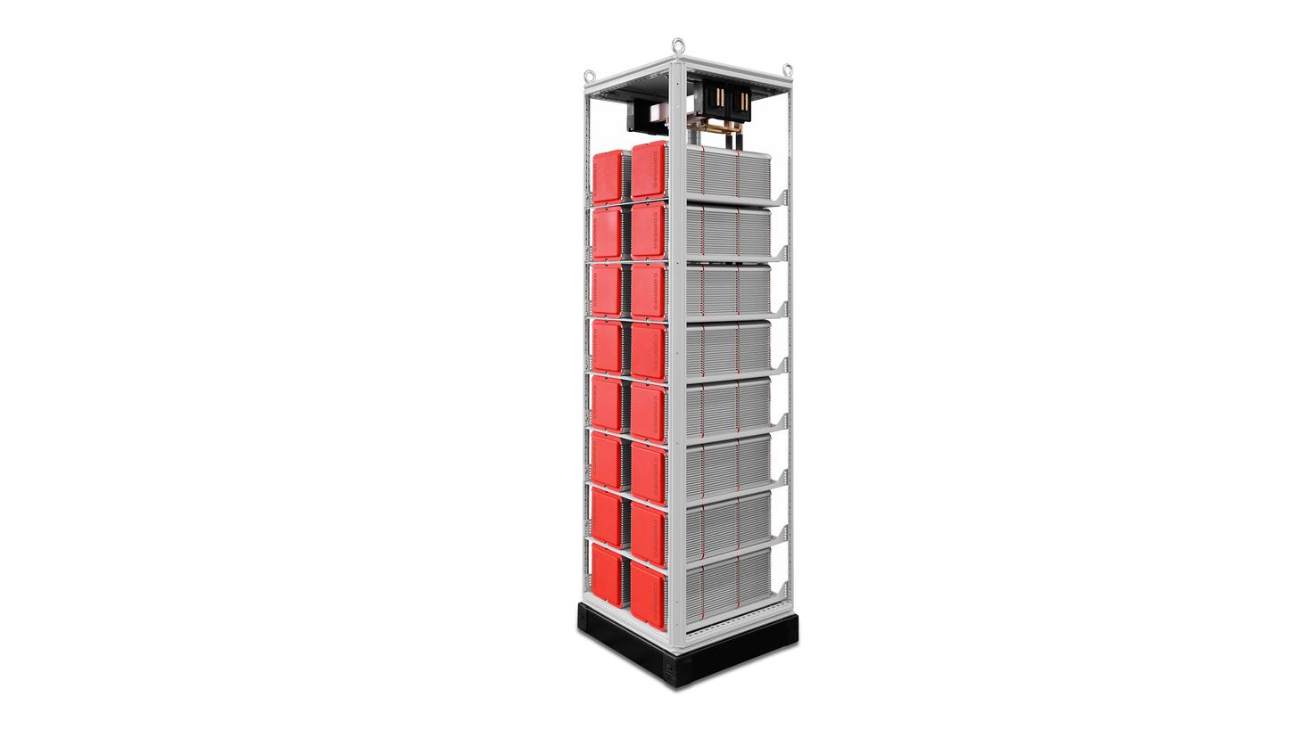 Logo energy storage rack