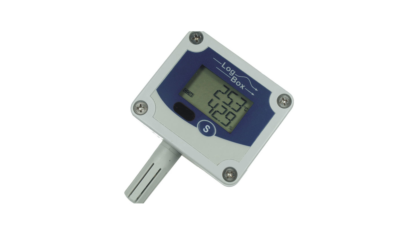 Logo Portable data logger with LCD