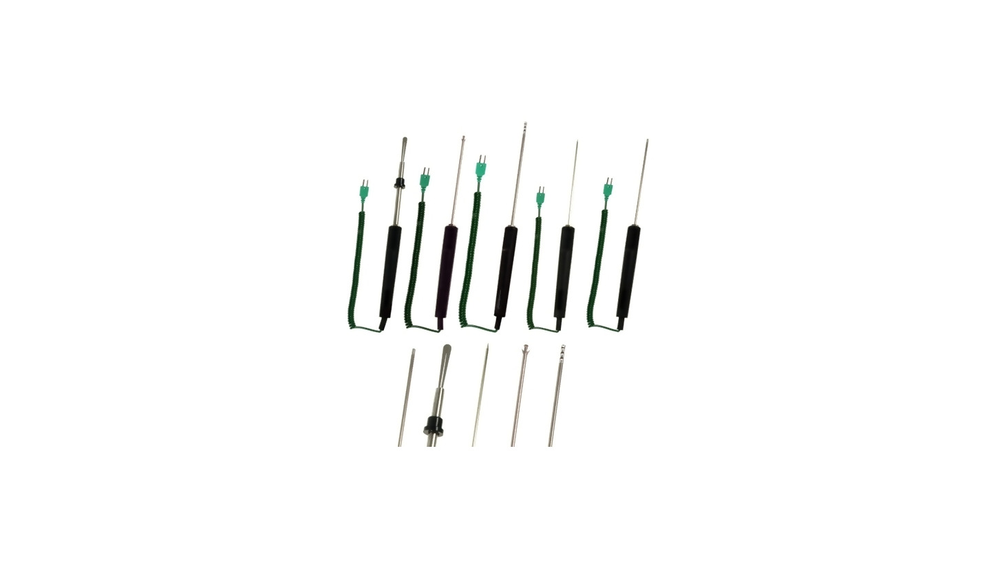 Logo Temperature Probes NiCr-Ni for Portable Measuring Instruments