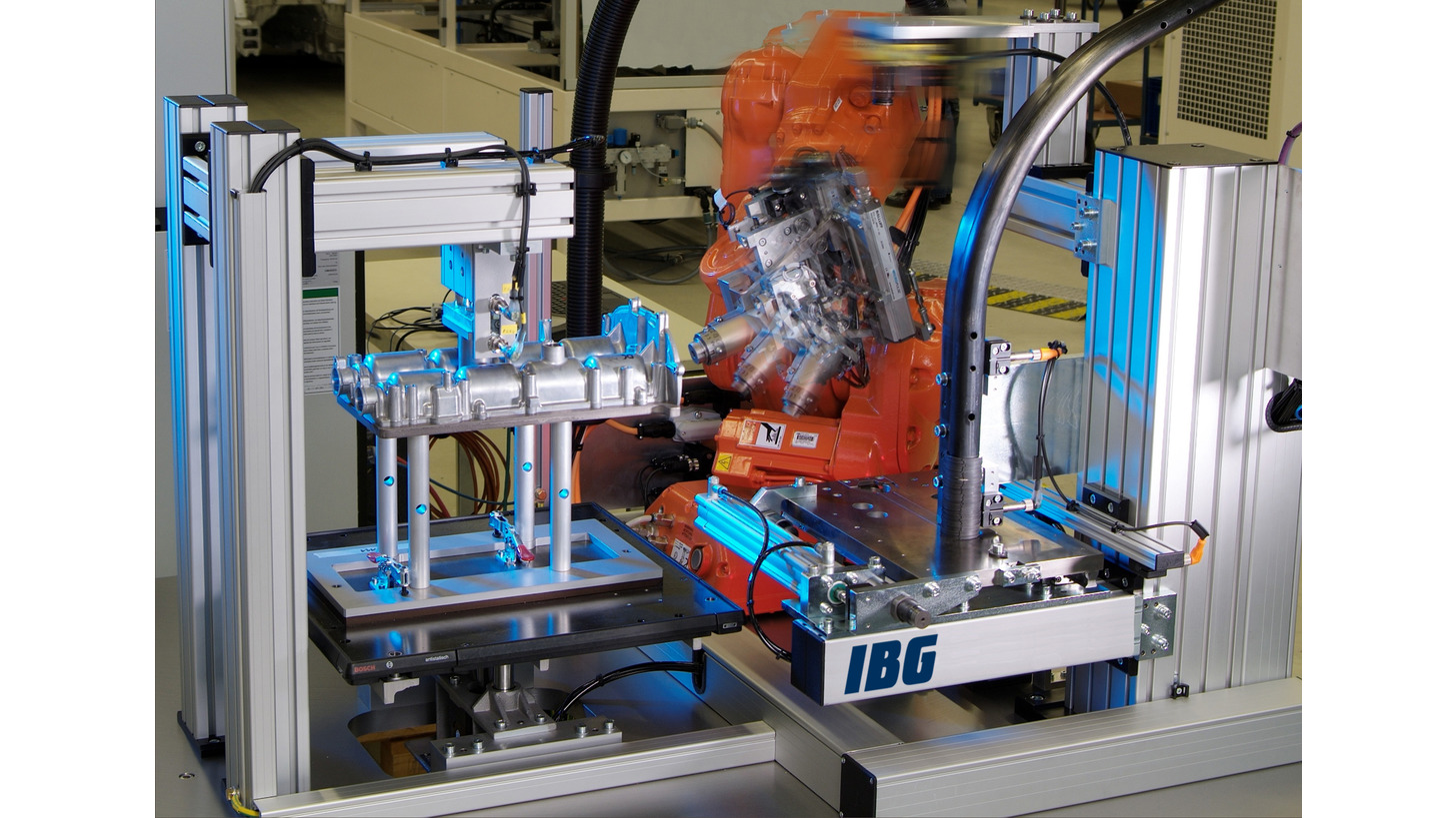 Logo Automated assembly of retaining rings