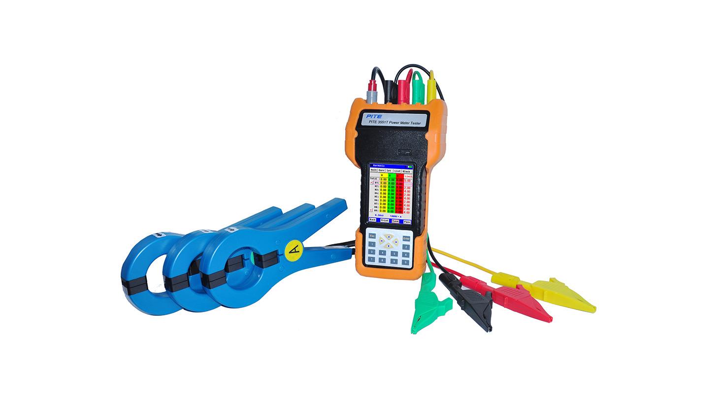 Logo PITE 3551T Power Meter Tester
