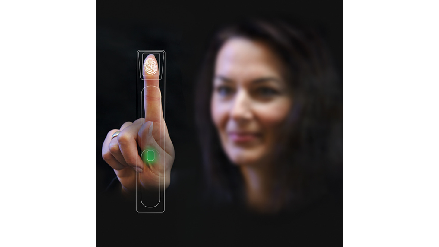 Logo Biometrical access control systems