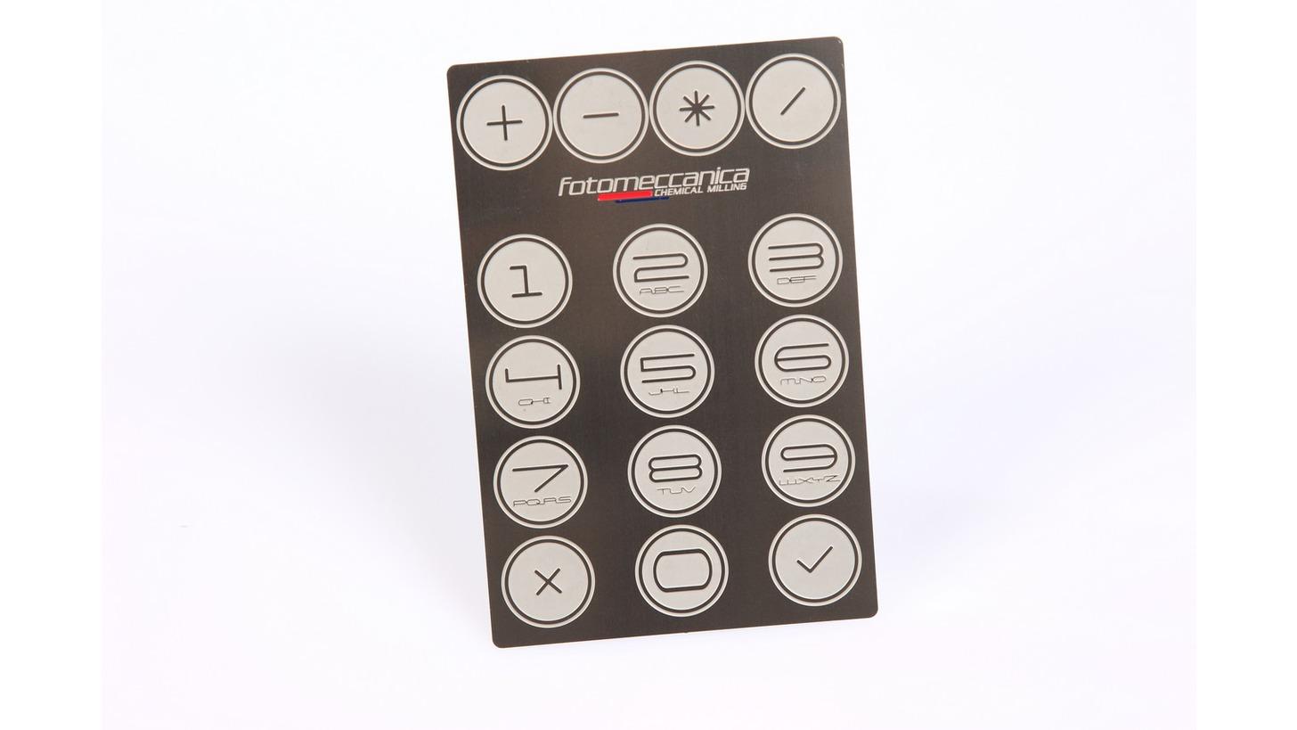 Logo Etched Keypad
