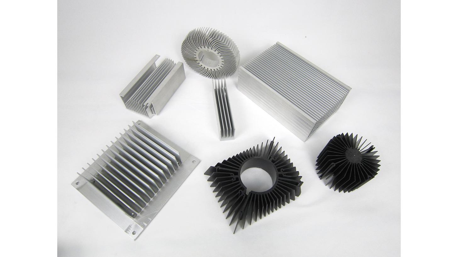 Logo Aluminum Extruded Heatsinks for Electron
