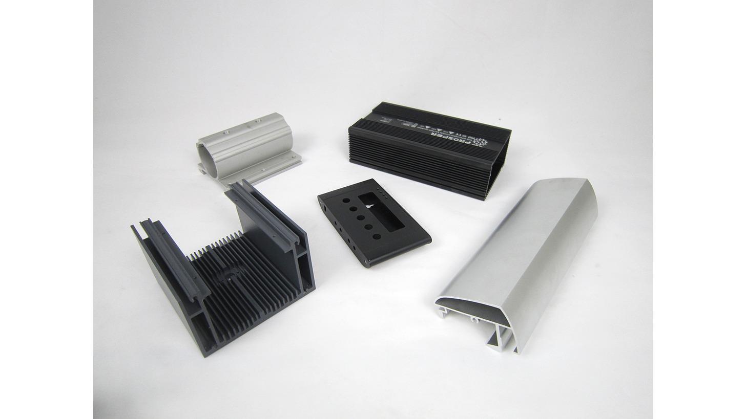 Logo Aluminum Housing Parts