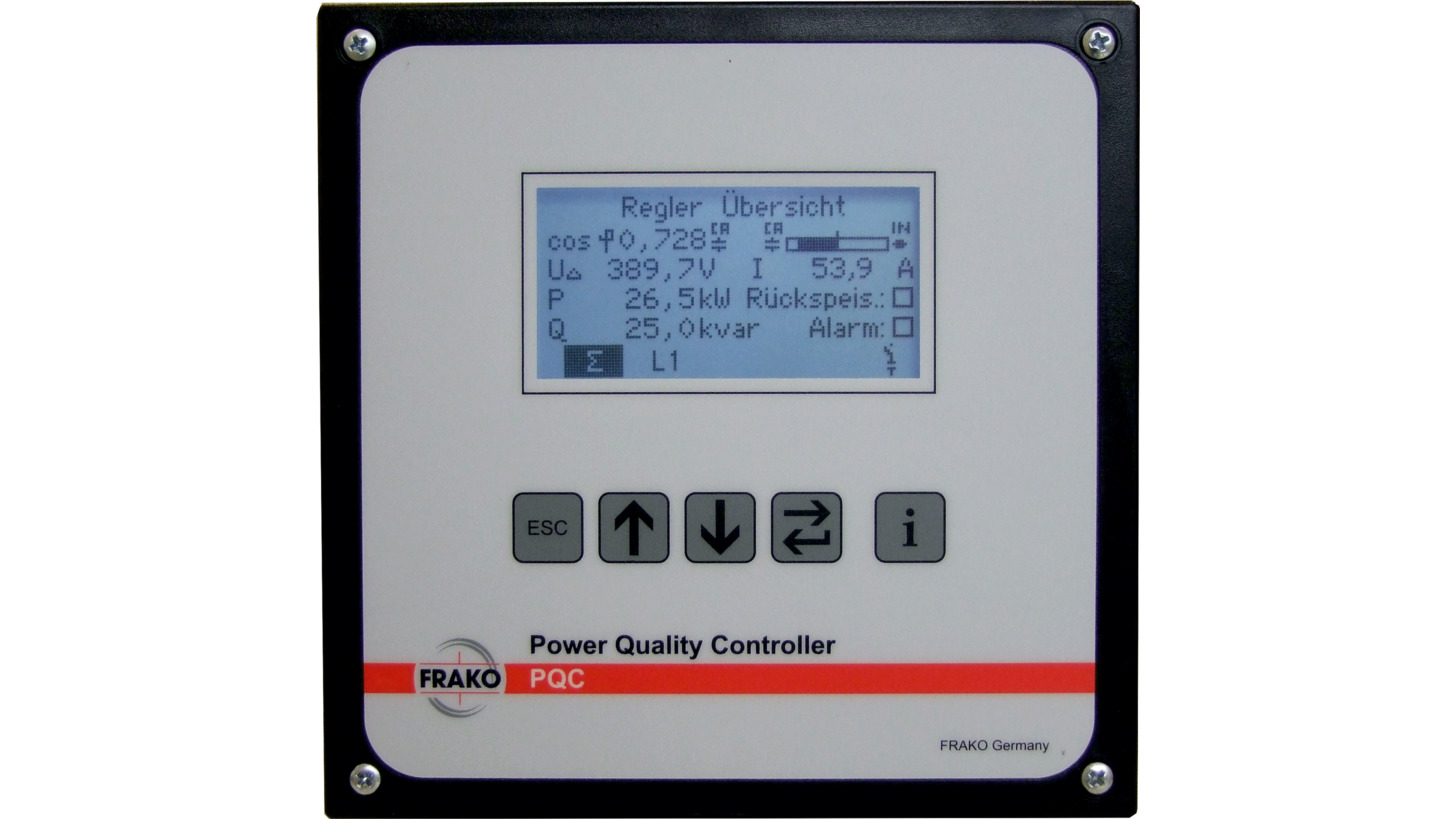 Logo FRAKO PQC - Power Factor Control Relay