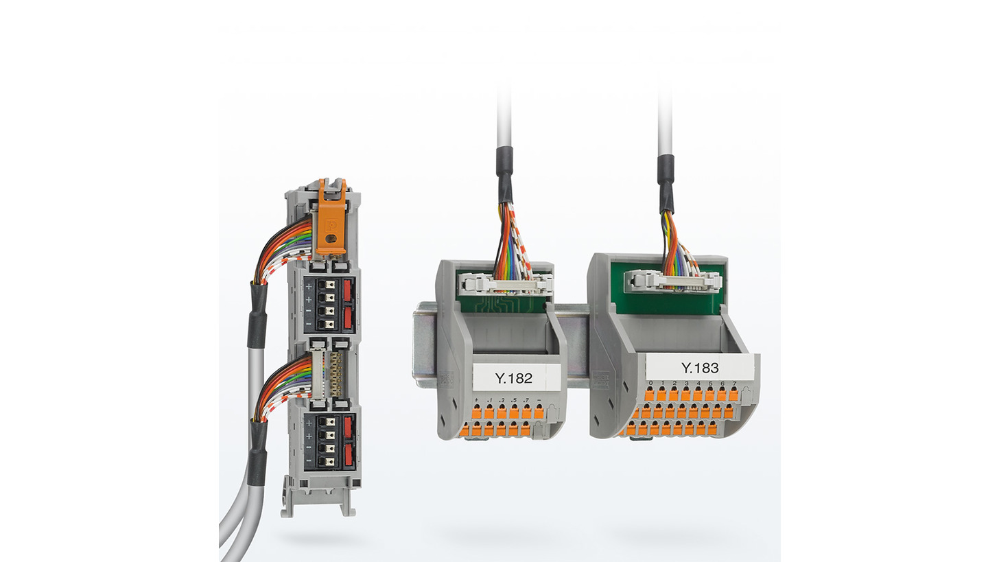 Logo System cabling for controllers