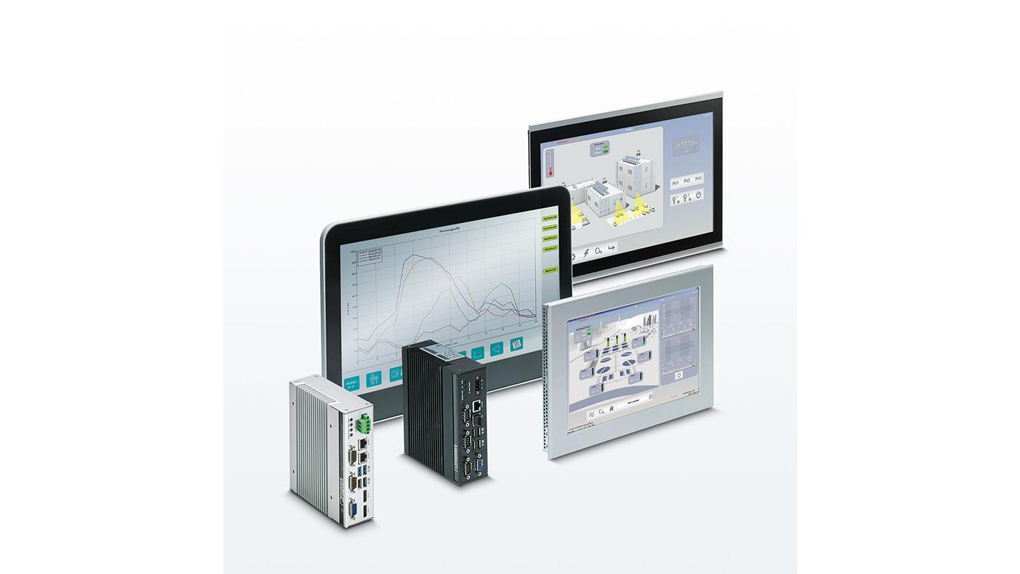 Logo HMIs and Industrial PCs