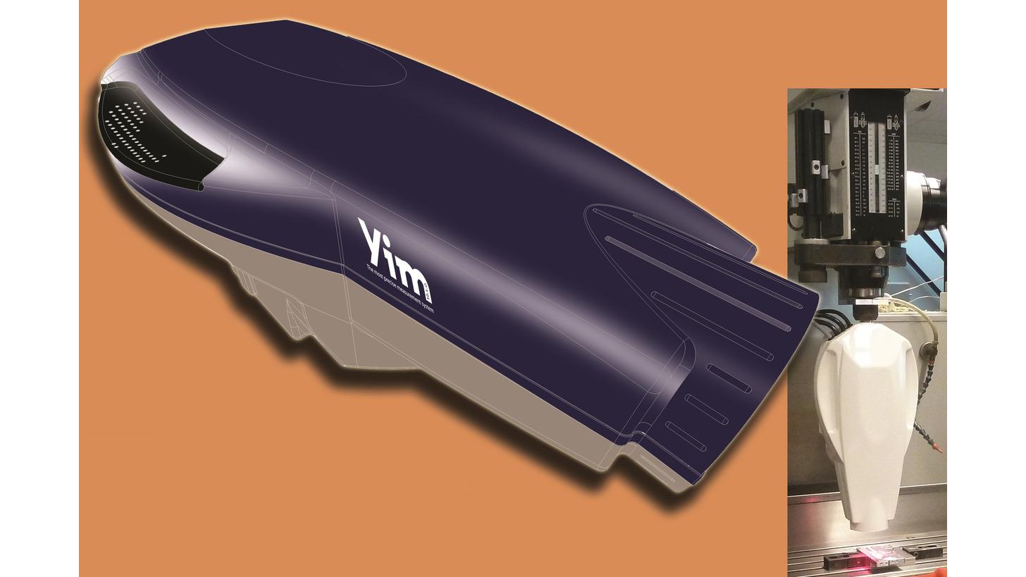 Logo YIM3D Optical Measuring Device