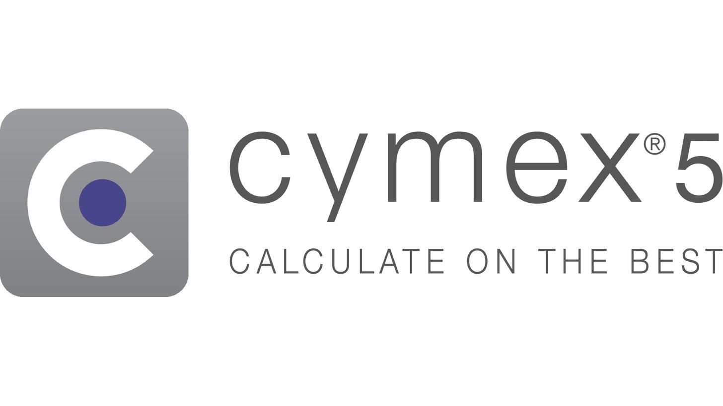 Logo Auslegungssoftware cymex® 5