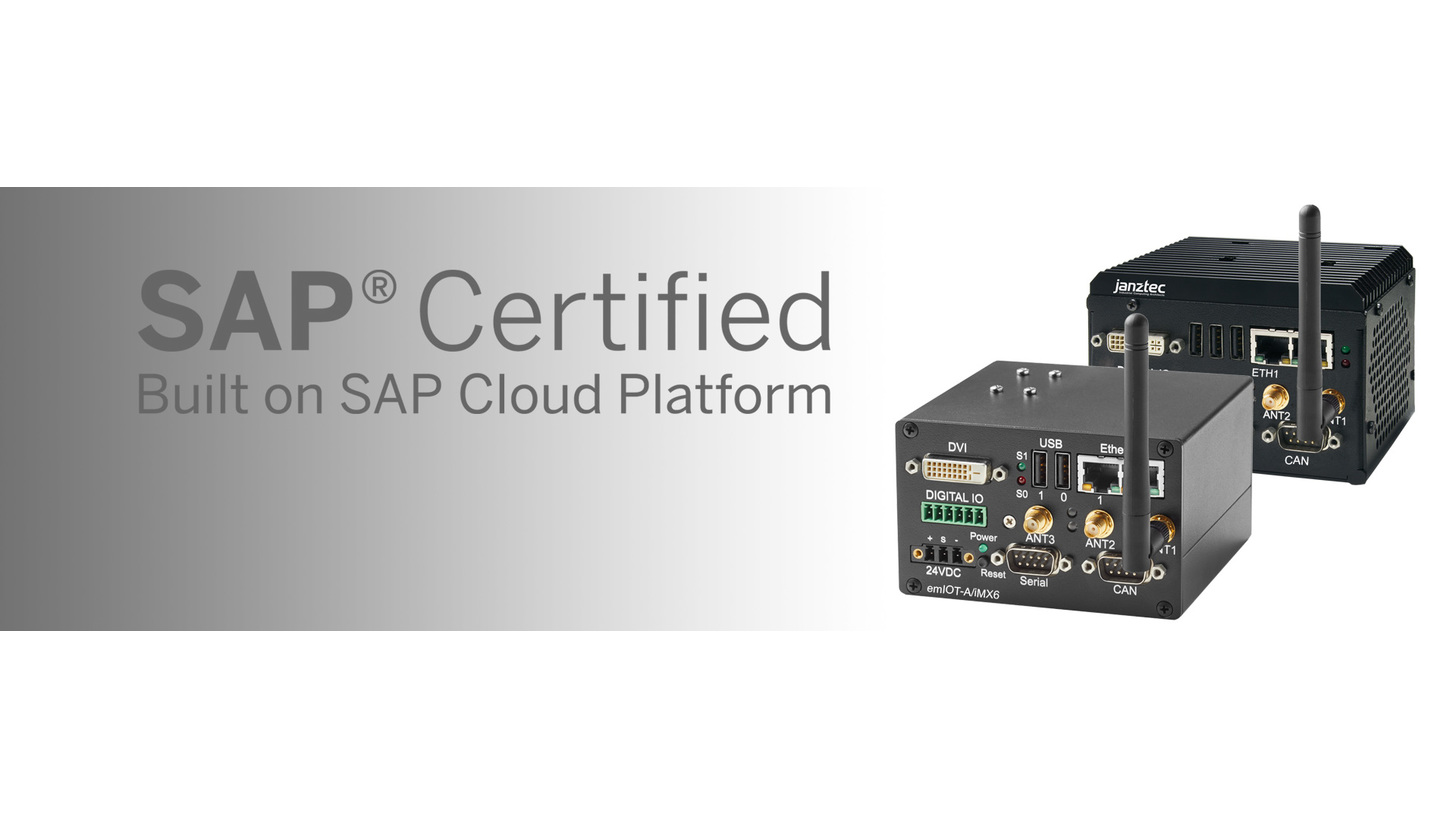 Logo IoT Edge Systems certified by SAP