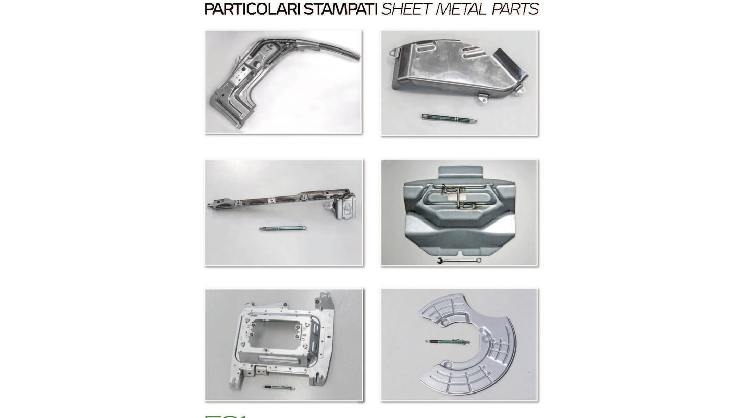 Logo DIES - TOOLS - SHEET METAL PARTS