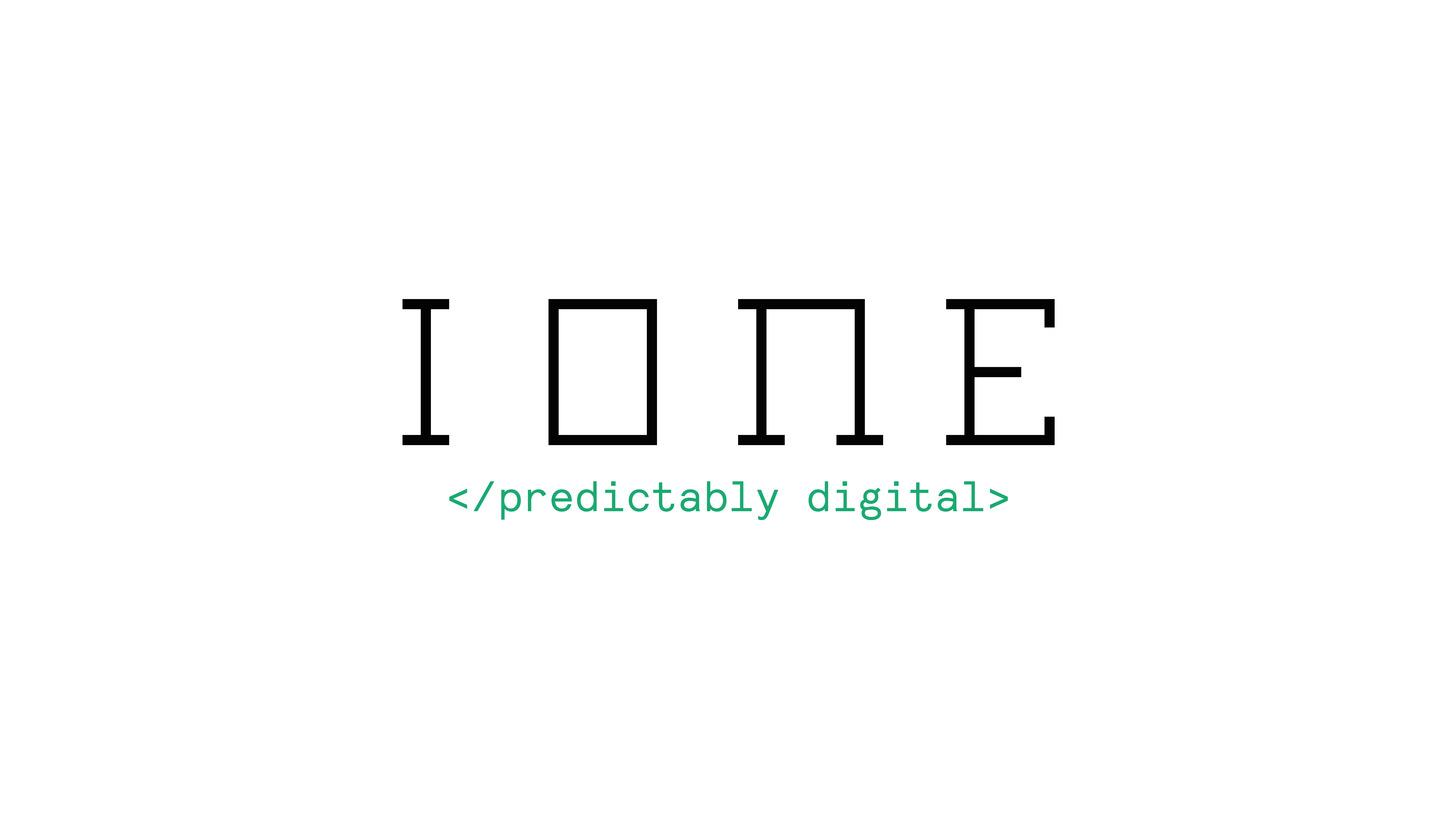 Logo IONE