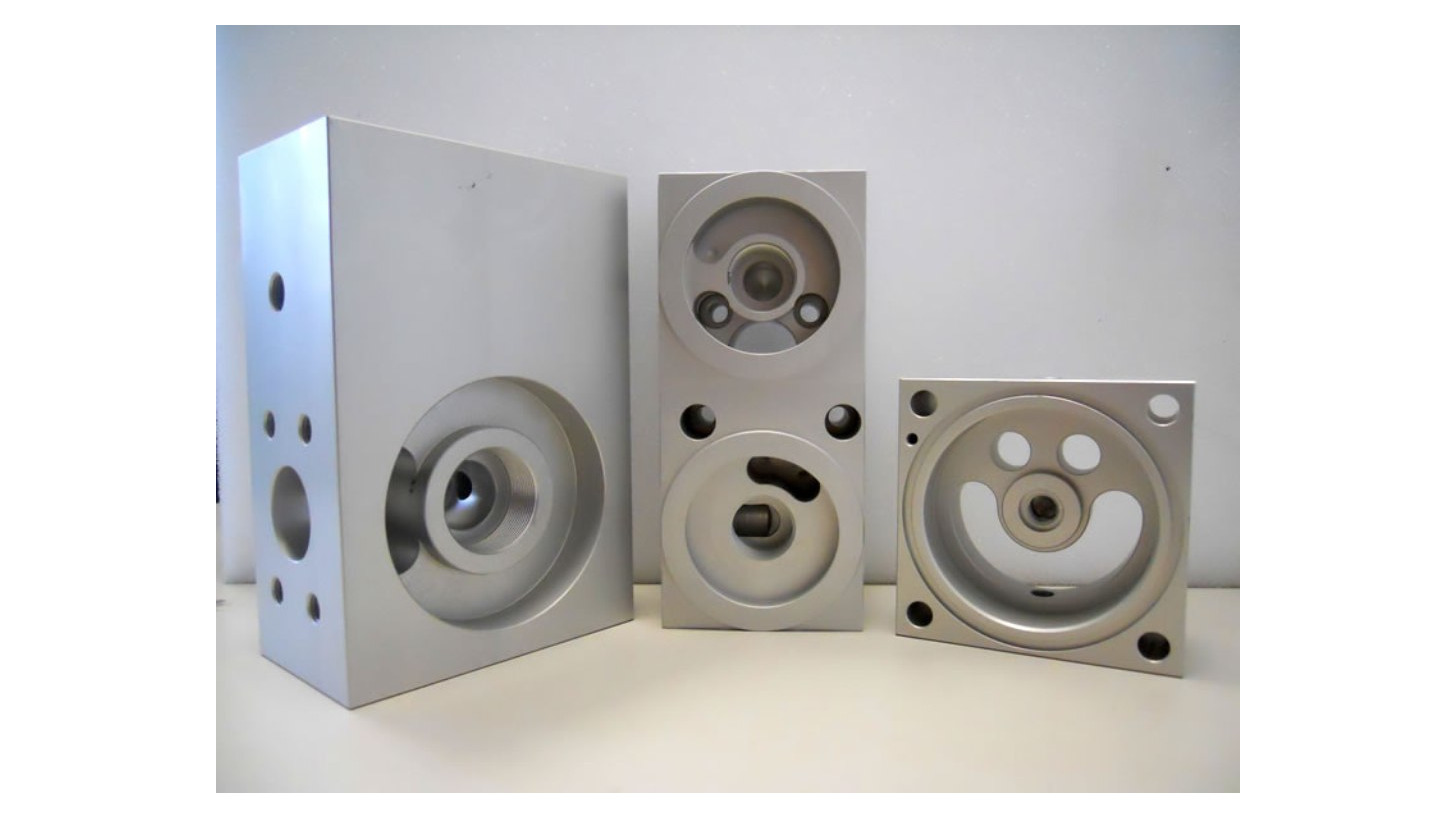 Logo CNC milled parts, Precision milled parts