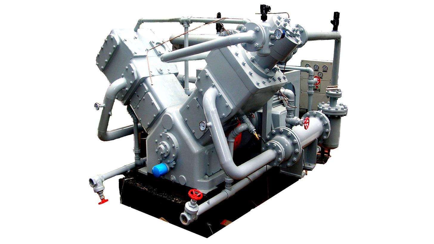 Logo Non-lubricated Piston Compressors