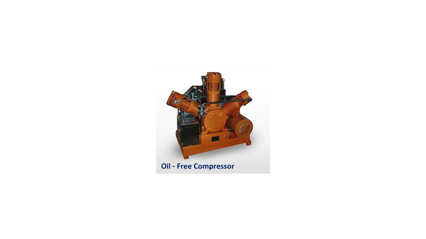 Logo Oil-less & Oil-free Compressors