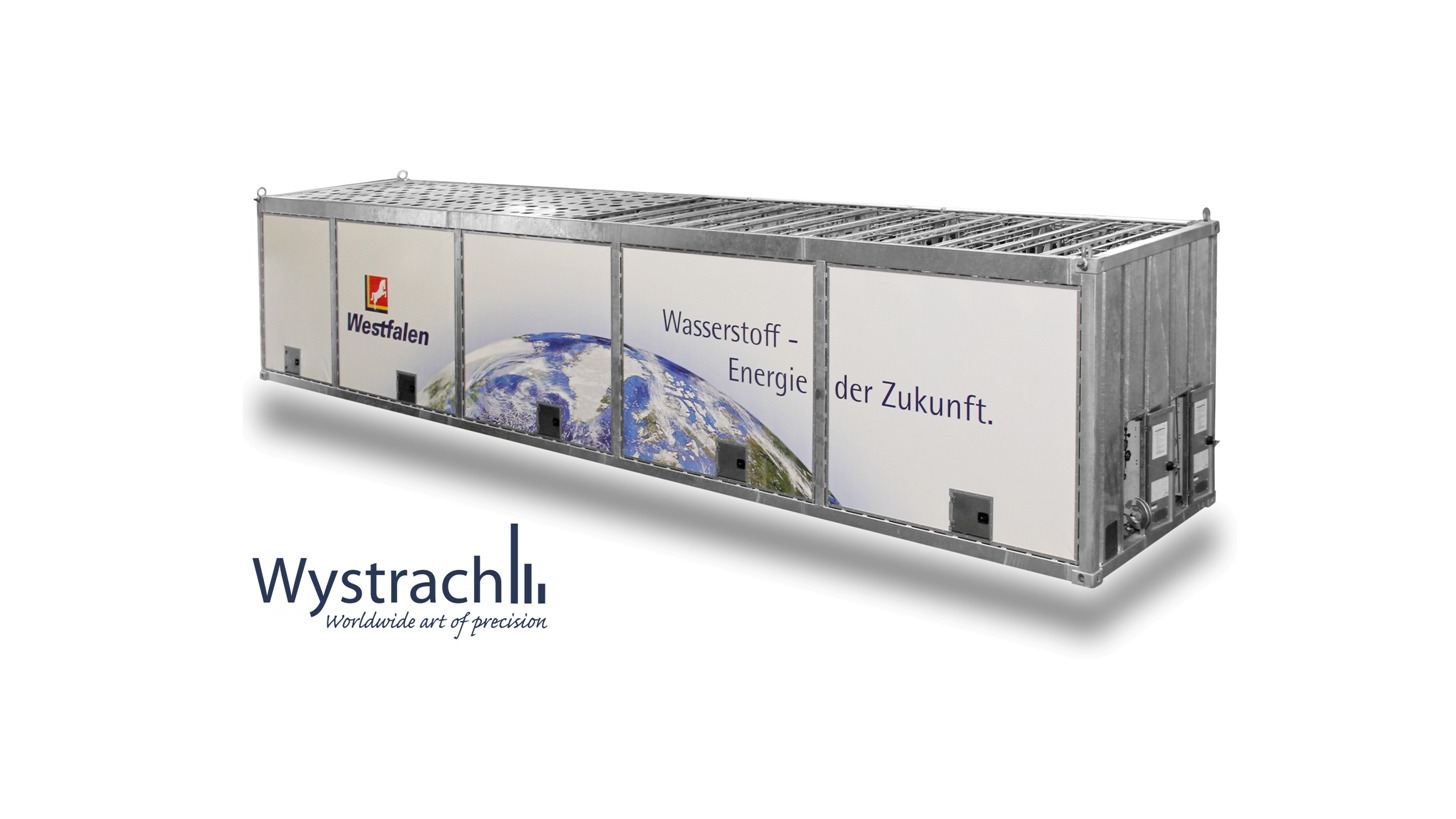 Logo 40.250 Liter H2 Großspeicher Container