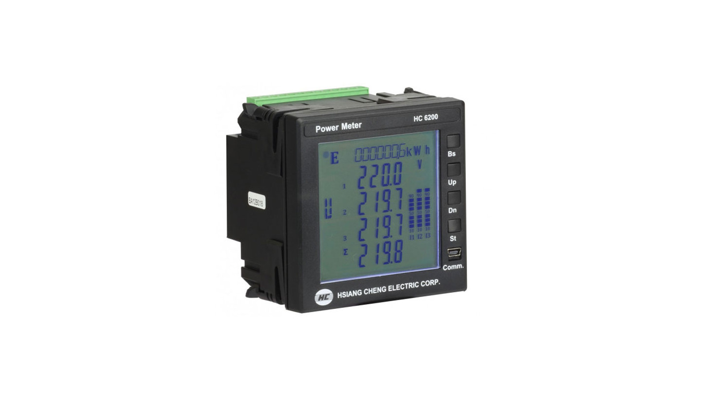 Logo HC 6200 Power Quality Transducer
