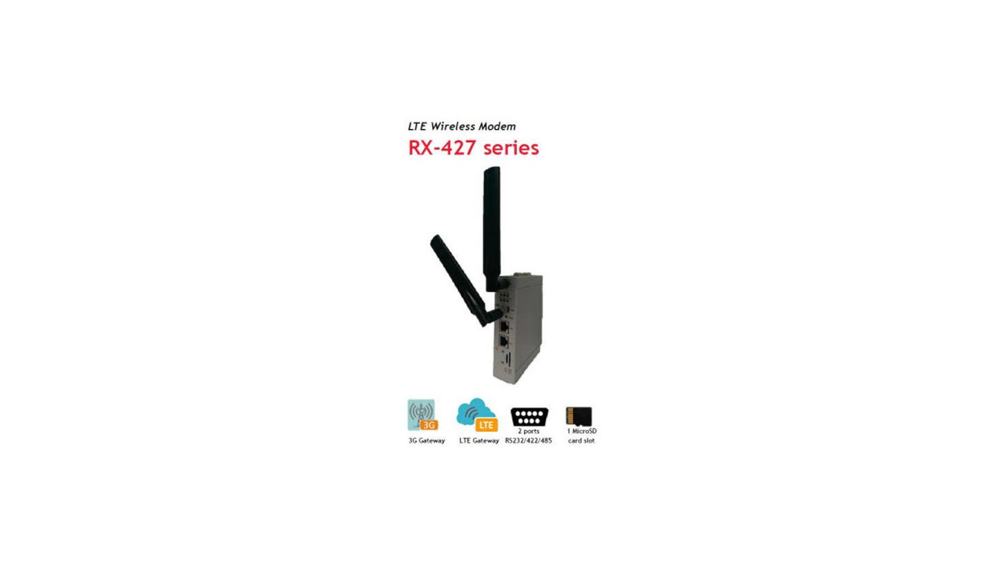 Logo RX-427 LTE Wireless 4G Modem