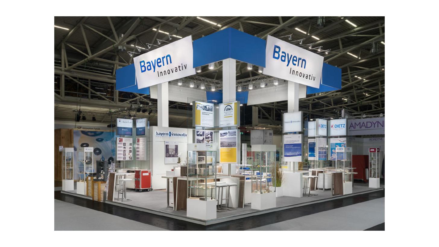 Logo Gemeinschaftsstand Bayern Innovativ 2017