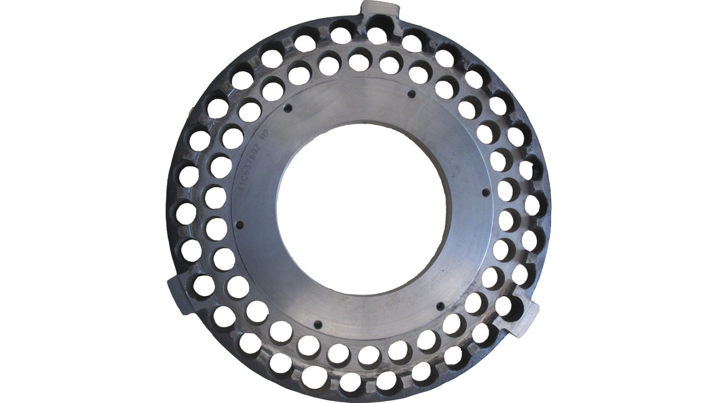 Logo Rotor End Plate